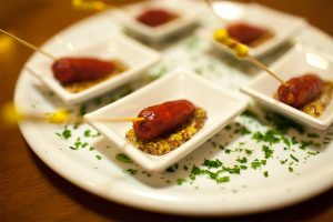Salame especial com mostarda de Dijon